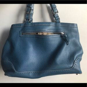 Coach pebble leather Satchel or Work Bag